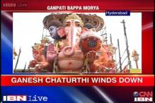 Ganesha Visarjan: Hyderabad revels in festive spirit