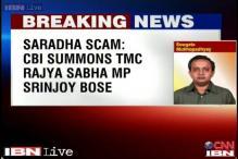 Saradha scam: CBI summons TMC Rajya Sabha MP Srinjoy Bose