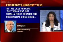 Meeting of Pakistan High Commission with Hurriyat leaders was ill-timed: Sartaj Aziz