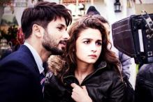 Snapshot: Alia Bhatt reveals the first look of her upcoming film 'Shaandaar' with Shahid Kapoor