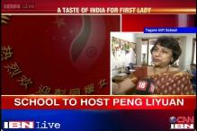 China's first lady to visit Tagore International School today