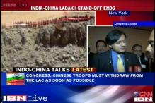 Chinese troops must withdraw from the LAC at the earliest, says Shashi Tharoor