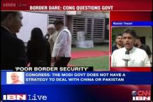 Manish Tewari slams government for not taking border incursions seriously