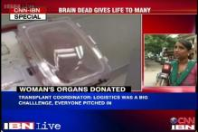 Bangalore: Brain dead gives life to many