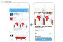 Twitter tests shopping service with a 'buy' button on tweets