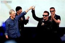 U2 drops new surprise album 'Songs of Innocence' at Apple unveiling