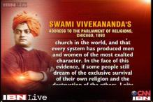 Watch: Excerpt from Vivekananda's speech in Parliament of Religions in Chicago in 1893