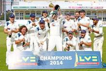 Yorkshire win English county championship