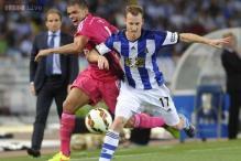 David Zurutuza nets double as Real Sociedad stun Real Madrid 4-2