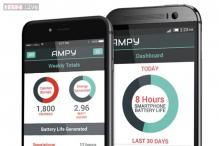 Ampy: A device that uses your motion to charge your phone