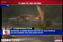 Government announes Rs 5 lakh compensation for families of 1984 riot victims