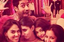 Snapshot: Aishwarya Rai poses with Shweta Nanda for a Diwali candid; Abhishek Bachchan makes faces
