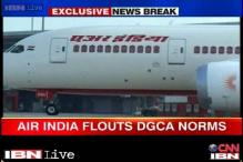 Air India violates flying norms, puts lives of passengers at risk