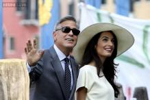 George Clooney, Amal Alamuddin's wedding gets 'The Simpsons' treatment