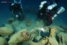 Divers descended 410 feet into the Mediterranean Sea to find the remains of a ship that sank thousands of years ago