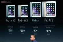 Apple launches iPad Air 2, the world's thinnest tablet at Rs 35,900, iPad Mini 3 at Rs 28,900; adds fingerprint sensor to iPads