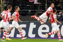Champions League: Arsenal beat Anderlecht 2-1 to stay 2nd in group