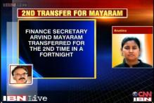 Second transfer for Arvind Mayaram in a fortnight, now goes to Minority Affairs