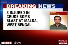 West Bengal: 3 injured in a crude bomb blast in Malda