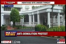 Bangalore: People stage silent protest to save heritage site