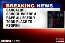 Bangalore school rape: One person arrested, classes to resume on Monday