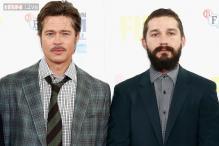 Brad Pitt is like my husband: Shia LaBeouf