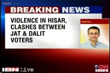 Haryana Assembly elections: Violence rocks Hisar, Sirsa; 2 injured, several vehicles burnt