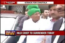 INLD chief OP Chautala to surrender before Tihar Jail authorities today