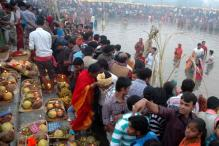 Scores of Indian-Americans celebrate Chhath puja in US