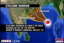 Cyclone Hudhud approaches Odisha, Andhra; relief teams make final preparations
