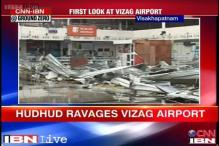 Cyclone Hudhud hit Vizag airport to resume operations from Friday
