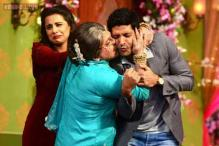 Photos: 20 times the hilarious 'Dadi' got too close for comfort with her 'shagun ki pappis' on the TV show 'Comedy Nights with Kapil'
