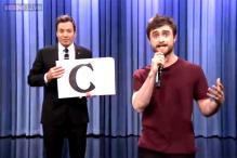Watch: Daniel Radcliffe raps Blackalicious's 'Alphabet Aerobics' live on Jimmy Fallon's show