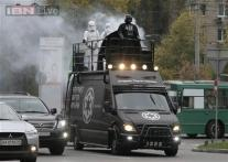 Darth Vader hopes the force is with him in Ukraine parliamentary elections