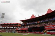 Dharamsala stadium: Cricket tourists' vantage point