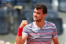 Dimitrov reaches Stockholm Open quarterfinals