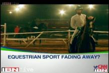 Equestrian sport fading away in India?