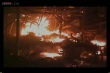 Faridabad cracker market fire: Fire station officer suspended, 5 injured