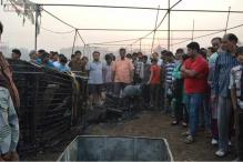Faridabad cracker market fire: Vendors helpless, hundreds of onlookers, no police