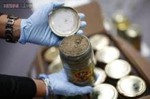 German police find record heroin haul in truckload of pickled cucumbers and garlic