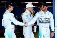 Mercedes driver Hamilton takes pole position for Russian GP 2014