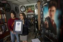 Mexican man in Hogwarts heaven after his collection of Harry Potter memorabilia was named the world's largest