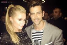 Snapshot: Hrithik Roshan parties with Paris Hilton in Dubai