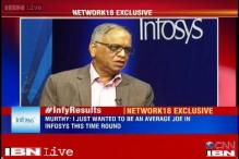 Narayan Murthy wants to be an 'average joe'