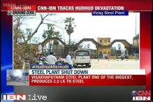 Cyclone Hudhud: Visakhapatnam Steel Plant damaged, non-operational for 6 months