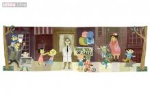 Google thanks Jonas Salk for the polio vaccine with a birth centenary doodle