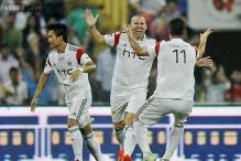ISL 2014: NorthEast United FC stun nine-man Mumbai City FC 2-0