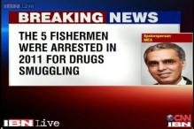 Sri Lanka court gives death to five Indian fishermen from Tamil Nadu in drug smuggling case