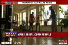 Man paralaysed from waist down, walks again after 4 years