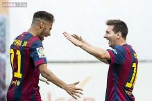 La Liga: Neymar, Lionel Messi score as Barcelona defeat Eibar 3-0